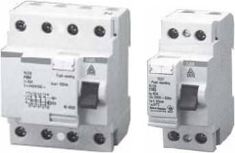 RCCB 2-4P, 30-100-300mA